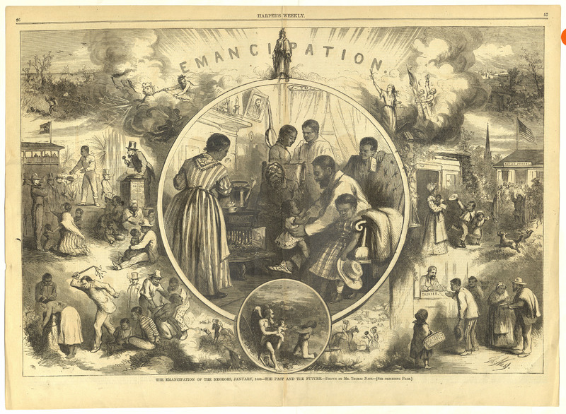 The Emancipation of the Negros
