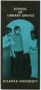 Atlanta University School of Library Service Brochure, circa 1975