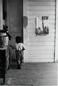 SNCC Poster on a Front Porch, Ruleville, Mississippi